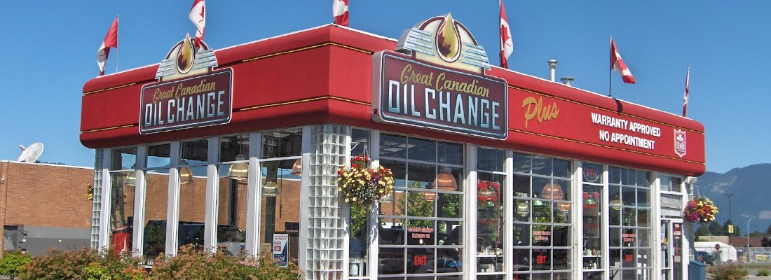 Great Canadian Oil Change on Vedder rd, chilliwack